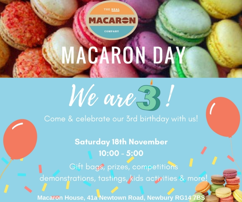 Macaron Day - we are 3